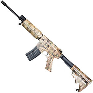 "Windham Weaponry .223 Superlight 5.56 NATO AR-15 Semi Auto Rifle 16"" Superlight Barrel 30 Rounds Polymer Handguard Collapsible Stock Camo Finish"