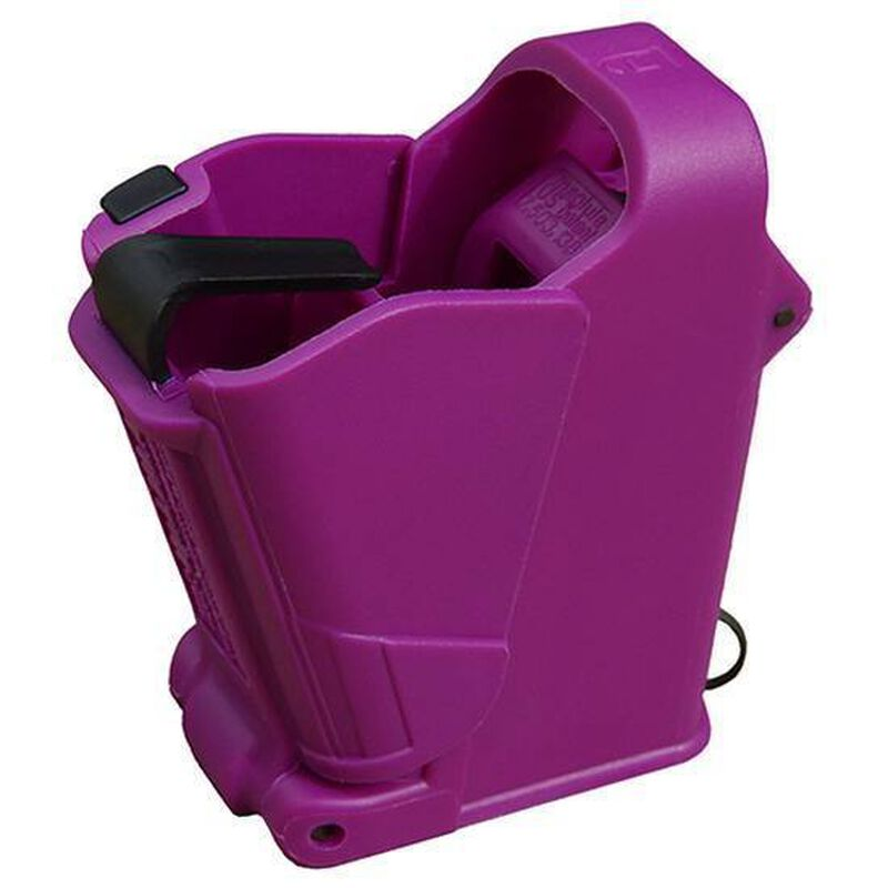 Maglula UpLULA Universal Pistol Magazine Loader 9mm/.357SIG/.40S&W/10mm/.45ACP Polymer Purple