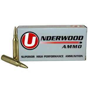 Underwood 223 Rem 55 Grain Controlled Chaos 20 Rounds