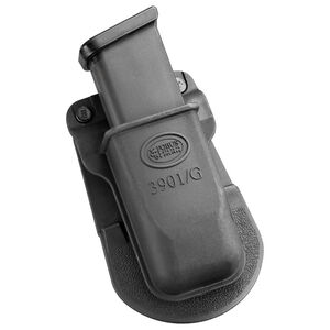 Fobus Single Magazine Pouch Glock/H&K 9mm/.40 S&W Double Stack Magazines Ambidextrous Paddle Attachment Black