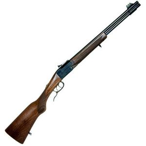 """Chiappa Firearms Double Badger Combined Over/Under Rifle .22LR/.410 Gauge 19"""" Barrel 2 Rounds Wood Stock 500.097"""