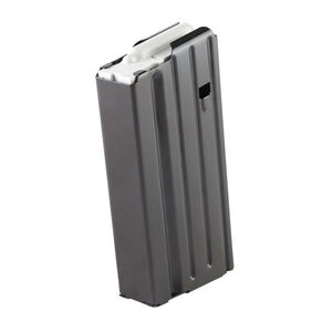 E-Lander AR-10/DPMS LR-308/SR-25 Magazine .308 Winchester 20 Rounds Steel Construction Black Finish