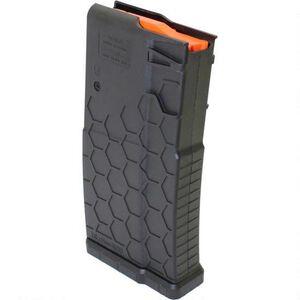 Hexmag AR-10A/.308 SR-25 Pattern Polymer Magazine 10 Rounds Black HX20SR25S1BLK