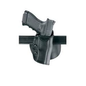 Safariland 568 Custom Fit Paddle Holster For Glock 19, 23, Right Hand, STX Plain Black