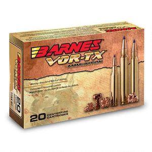 Barnes VOR-TX .25-06 Remington Ammunition 20 Rounds 100 Grain TTSX BT Lead Free 3225 fps