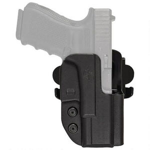 "Comp-Tac International Holster Ruger GP100 with 4.2"" Barrel OWB Right Handed Kydex Black"