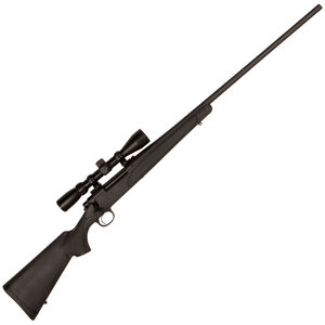 """Remington 700 ADL Package Bolt Action Rifle .30-06 Spring 24"""" Barrel with 3-9x40 Scope Black Synthetic Stock Matte Blued"""