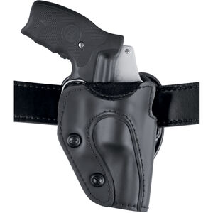 Safariland 567 Custom Fit Holster Colt, Ruger, S&W, Taurus Revolvers Right Hand STX Plain Black Finish 567-09-411