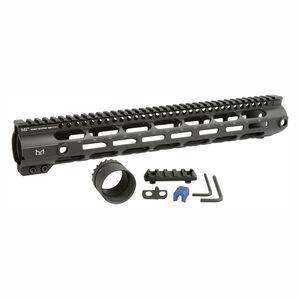 "Midwest Industries AR-10 Combat Rail 15"" Free Float Hand Guard M-LOK DPMS High Profile Black"