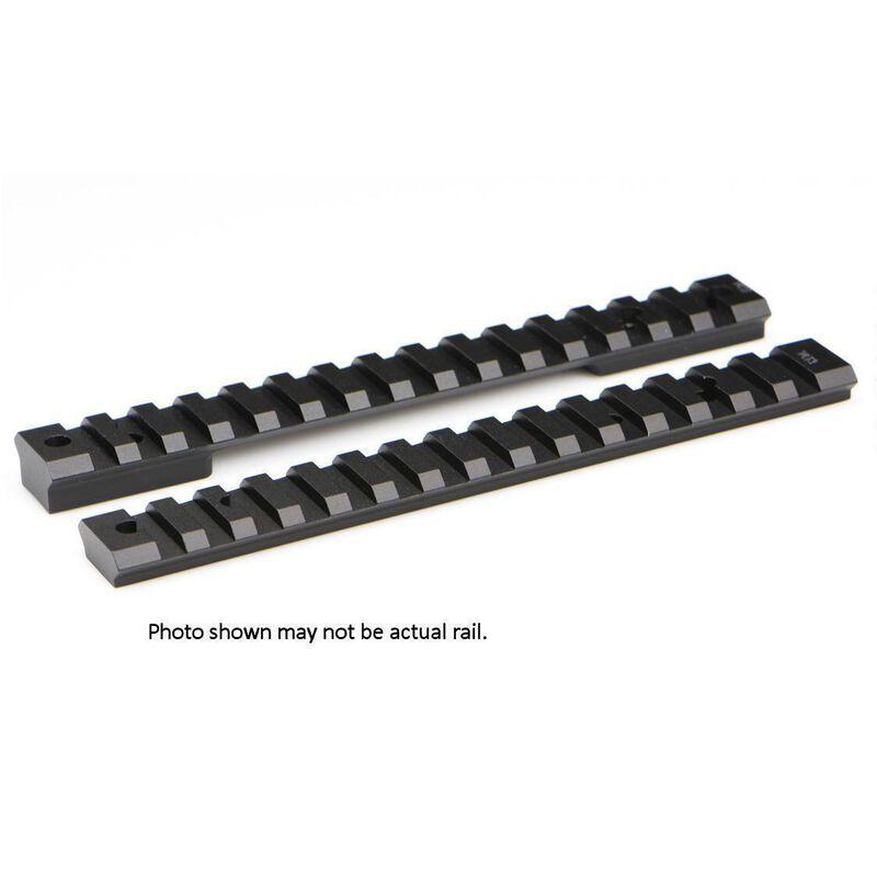 Warne Mountain Tech One Piece Picatinny/Weaver Style Scope Base Howa/Vanguard Long Action Aluminum Matte Black