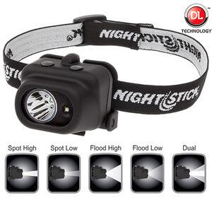 Nightstick Dual-Light Multi-Function Headlamp NSP-4608B