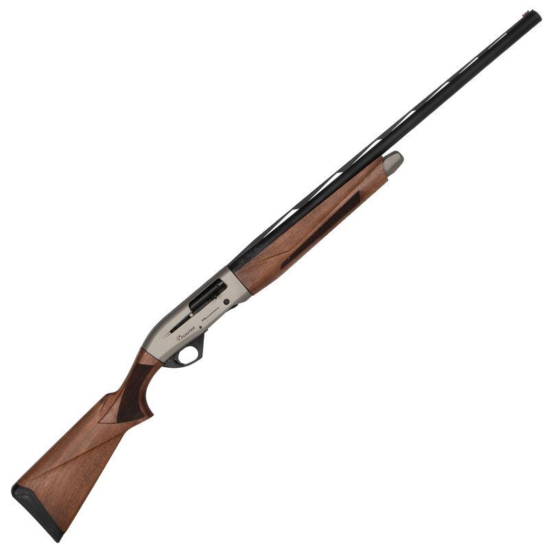 "Pointer Phenoma 12 Gauge Semi Auto Shotgun 28"" Barrel 3"" Chamber Turkish Walnut Stock/Forend Gray Cerakote Receiver Finish"