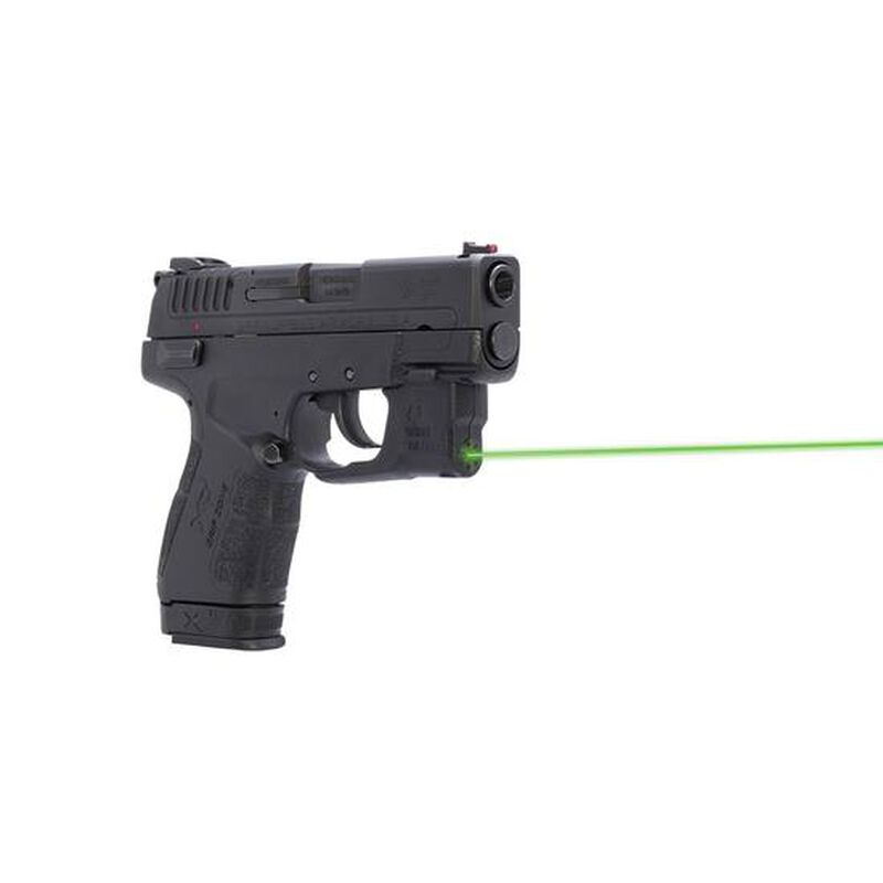 Viridian Reactor 5 Gen 2 Green Laser Sight for Springfield XDE featuring ECR With Ambidextrous IWB Holster