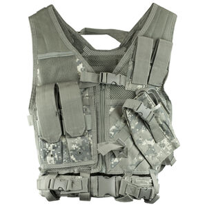 NcSTAR Tactical Vest Size XS to Small PVC Digital Camo
