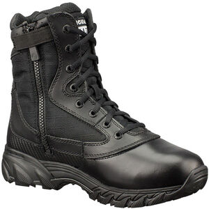 "Original S.W.A.T. Chase 9"" Tactical Side Zip Boot Nylon/Leather Size 10.5 Regular Black 1312-BLK-10.5"
