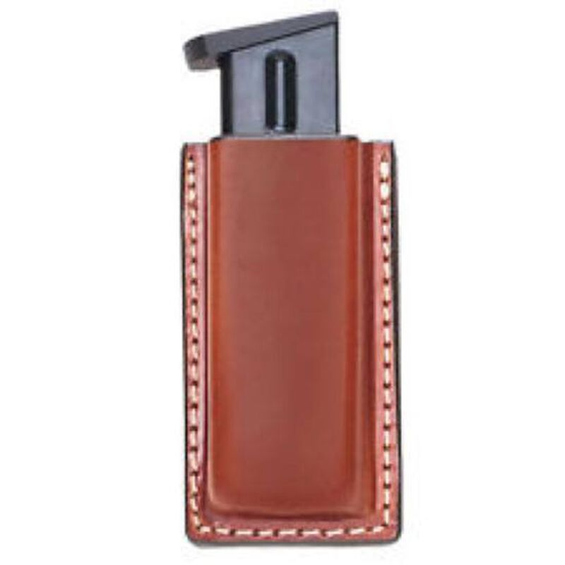 Aker Leather 514 Single Magazine Pouch Leather Tan