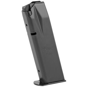 SIG Sauer P226 Magazine 9mm Luger 15 Rounds Polymer Base Plate Steel Body Black Finish