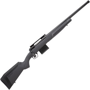 "Savage 110 Tactical .308 Win Bolt Action Rifle 20"" Heavy Threaded Barrel 10 Rounds Gray Synthetic Adjustable AccuFit AccuStock Black Finish"