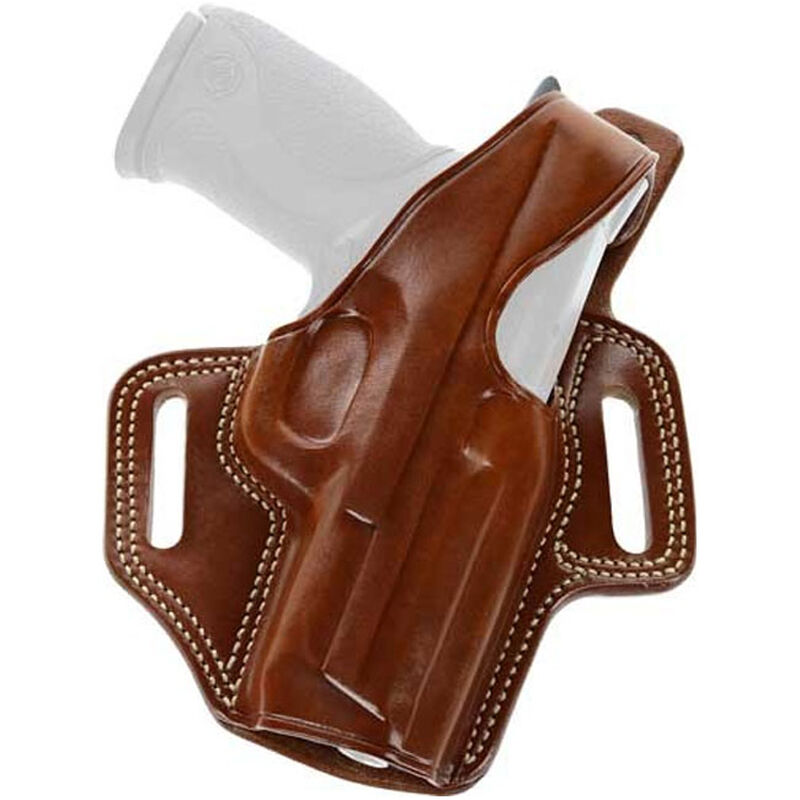 Galco Fletch High Ride Belt Holster GLOCK 17/22/31 Right Hand Leather Tan