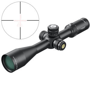 Athlon Helos BTR Riflescope 6-24x50mm, 30mm Main Tube, APMR FFP IR MIL, Glass Etched Reticle, Black
