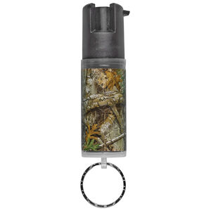 Sabre Realtree Edge Camouflage Pepper Spray with Key Ring