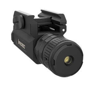 iProTec RMLSG Tactical Weapon Laser Sight Green LED 5mW CR123A Battery Rail Mounted Aluminum Black 6569