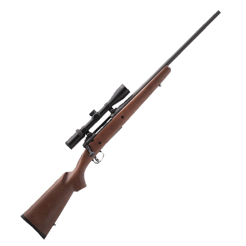 """Savage AXIS II XP Bolt Action Rifle .22-250 Remington 22"""" Barrel 4 Rounds AccuTrigger 3-9x40 Scope Wood Stock Matte Black"""