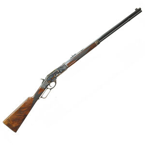 "Navy Arms 1873 Winchester Lever Action Rifle .357 Mag 20"" Octagonal Barrel 10 Rounds Turnbull Color Case Hardened Receiver Walnut Stock Blued NTW73045"