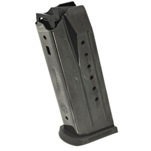 Ruger Security-9 Full Size 15 Round Magazine 9mm Luger Alloy Steel Black Oxide Finish