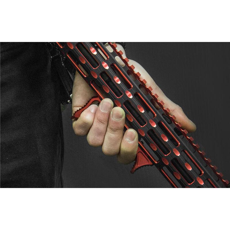 UTG Ultra Slim Angled M-LOK Foregrip, Matte Red