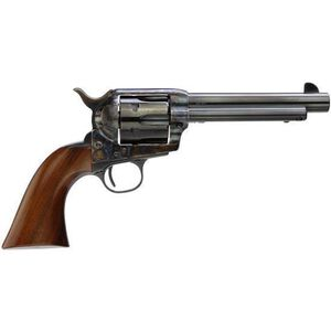 "Taylor's and Company Cattleman Model 1873 Gunfighter Single Action Revolver .357 Magnum 5.5"" Barrel 6 Rounds Case Hardened Frame Walnut Grips 5000"