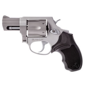 """Taurus UL 856 Double Action Revolver .38 Special 2"""" Barrel 6 Rounds Serrated Ramp Front Sight/Fixed Rear Sight Soft Rubber Grip Lightweight Alloy Frame Matte Stainless Finish"""