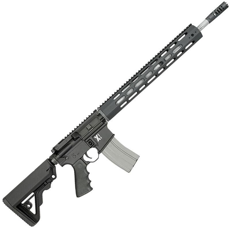 "Rock River LAR-15 X-1 5.56 NATO Semi Auto Rifle 30 Rounds 18"" Barrel Free Float Handguard Collapsible Stock Black"