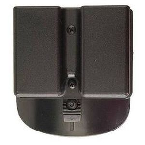 Uncle Mike's Double Paddle Magazine Pouch Double Stack 9mm/.40 Kydex Black 5136-2