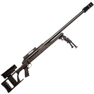 "ArmaLite AR-50A1 Single Shot Bolt Action Rifle .50 BMG 30"" Barrel Three Section Stock 15 MOA Scope Base Bipod Included Matte Black"