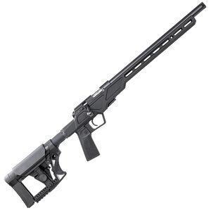 "CZ 457 Varmint Precision Chassis .22 Long Rifle Bolt Action Rifle 16.5"" Threaded Barrel 5 Rounds Aluminum Chassis Matte Black"