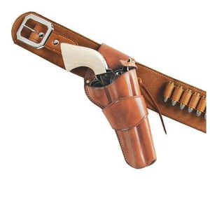 """Galco Model 1880s Single Action Army 4.75"""" Crossdraw Holster Right Hand Leather Tan W-DRC150"""