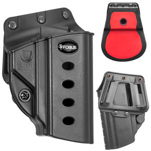 Fobus Evolution Roto Belt/Paddle Holster Hi-Point/Ruger OWB Right Hand Draw Polymer Construction Black Finish