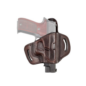 Tagua Gunleather TX1836 Fort S&W M&P Shield 9/40/45 and Similar Belt Slide Holster Right Hand Leather Brown