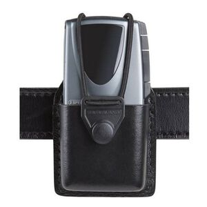 "Safariland Model 764 Tape Recorder Holder Fits Recorders 1.125"" x 2.25"" x 5.5"" SafariLaminate Basketweave Black"