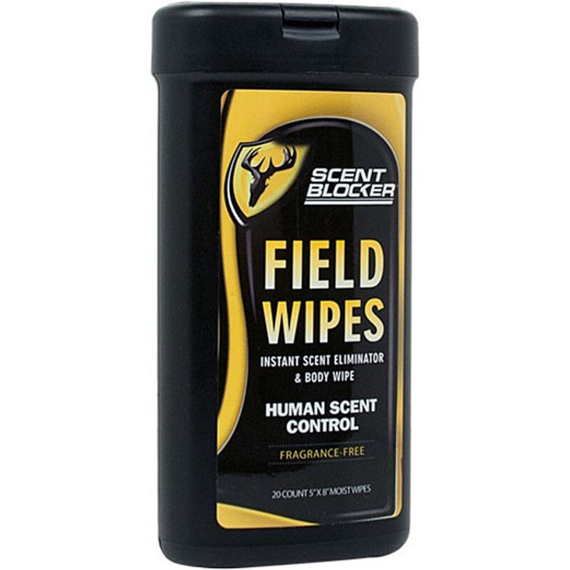 Robinson Outdoors ScentBlocker Field Wipes 20 Count Canister