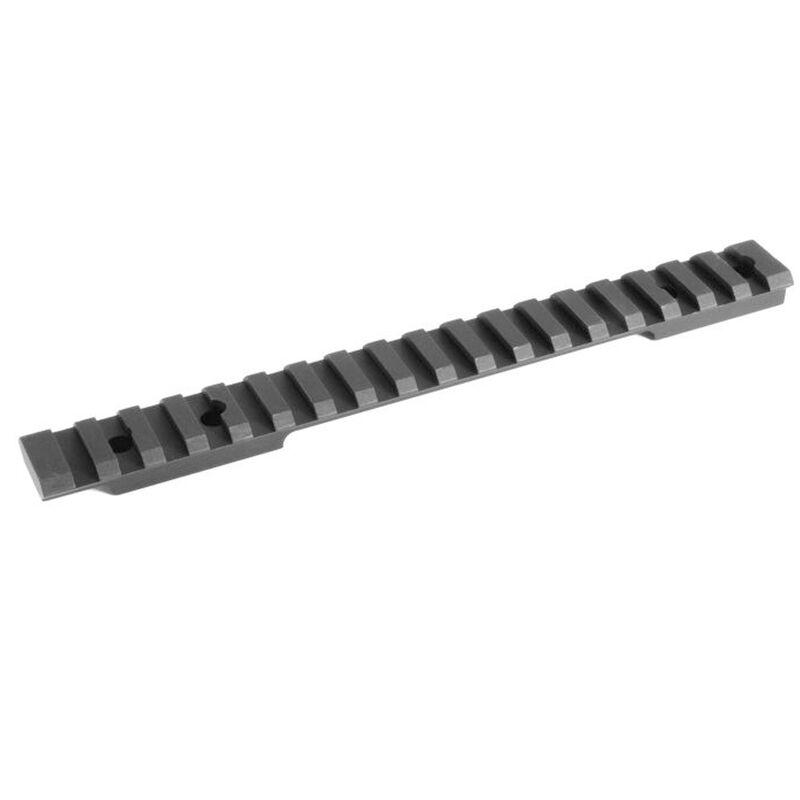 EGW Savage 112 Long Action Round Rear Picatinny Scope Mount 20 MOA Aluminum Matte Black