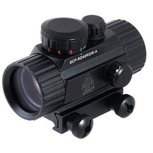 """Leapers UTG 3.8"""" ITA Red/Green CQB Dot Sight with Integral Mount"""
