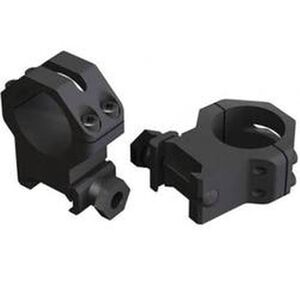 Weaver One Inch Tactical Four Hold Mount High Matte 99512