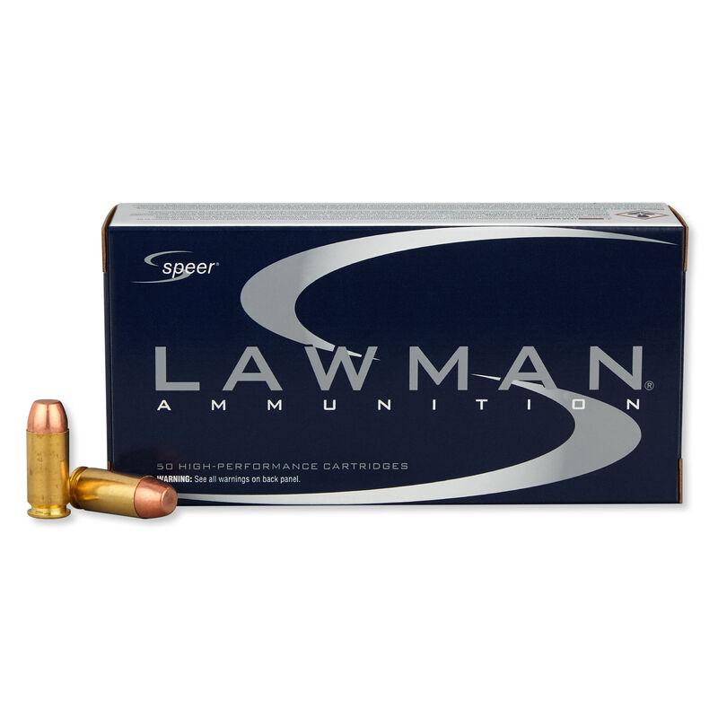Speer Lawman .40 S&W Ammunition 1,000 Rounds TMJ 180 Grain 1,000 Feet Per Second
