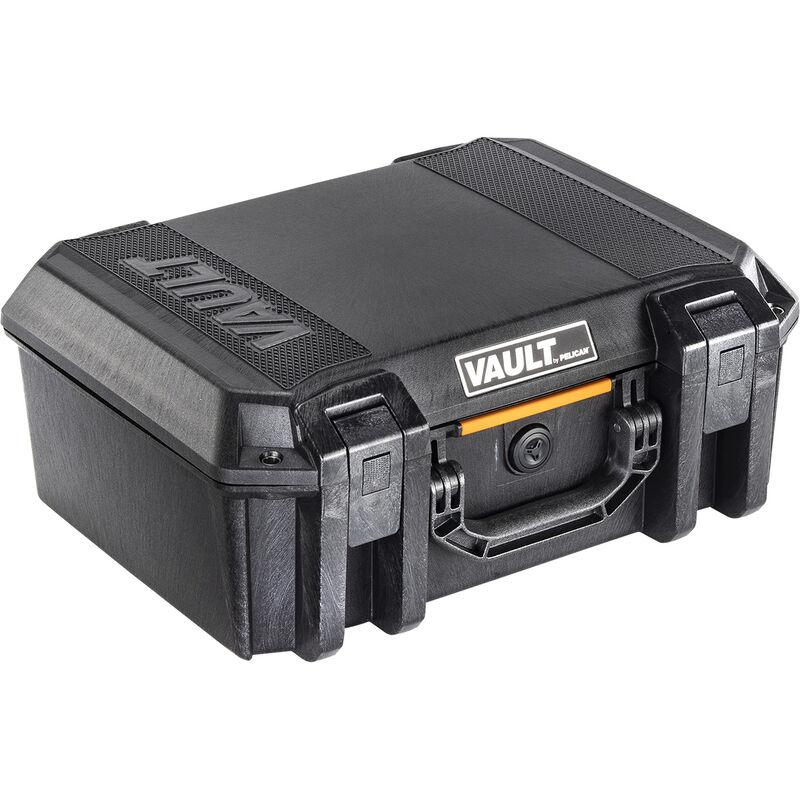 """Pelican V300 Vault Large Pistol Case 16""""x11""""x6.5"""" Polymer Matte Black"""