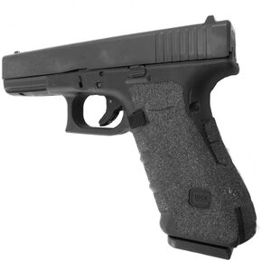 Talon Grips Grip Wrap GLOCK Gen 4 17/22/24/31/34/35/37 Medium Back Strap Granulated Texture Black