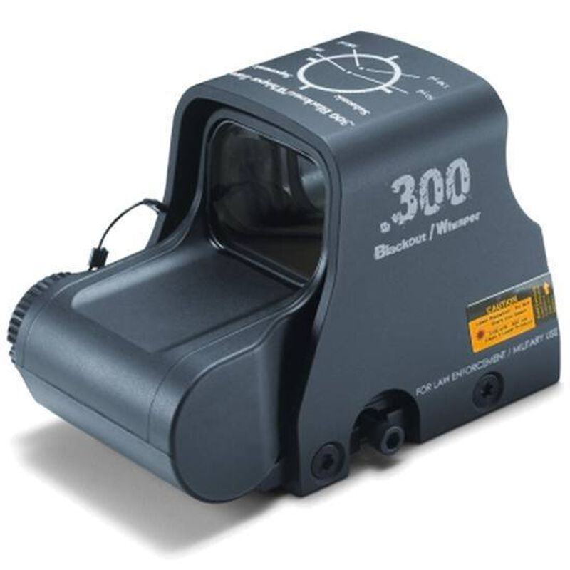 EOTech XPS2 .300 Blackout Red Dot Sight Circle/Dot Reticle CR123 Lithium Battery Non-Night Vision XPS2-300