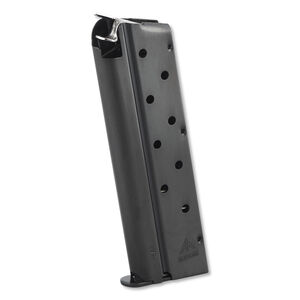 Mec-Gar 1911 Magazine for Government/Commander Pistols 9mm 9 Rounds Steel Blued MGCGOV9LB