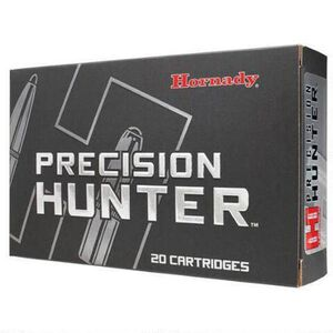 Hornady Precision Hunter .300 Wby Mag Ammunition 20 Rounds 200 Grain ELD-X Polymer Tip Bullet 2960fps